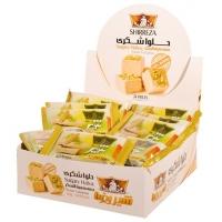 حلوا شکری شیررضا مقدار  50 گرم  در بسته بندی 24 عددی