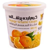 کرم ارده پرتقالی شیررضا مقدار  400 گرم